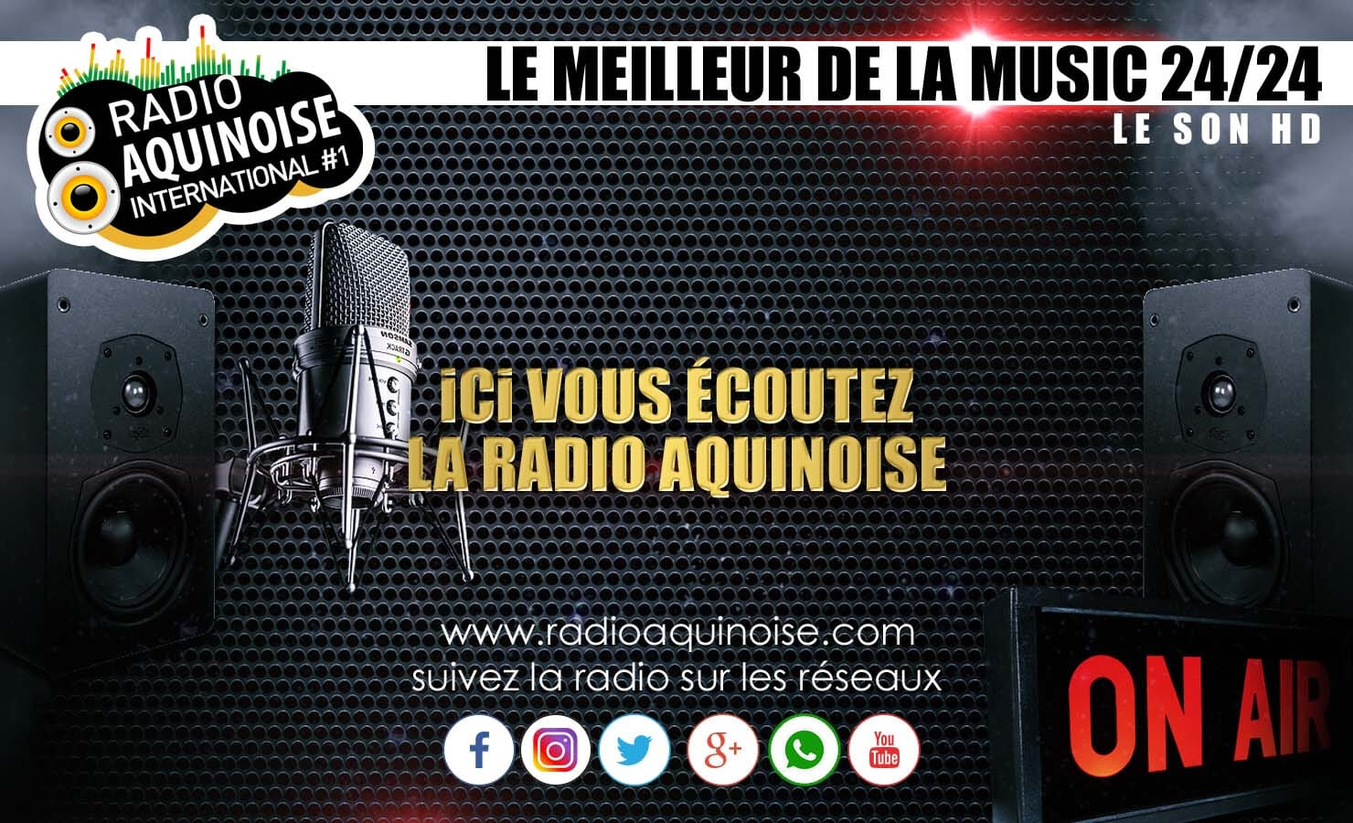 Ecouter Radio Aquinoise International